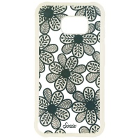 Sonix Clear Coat Hybrid Case for Samsung Galaxy S7 Active - Clear/Blue Flowers