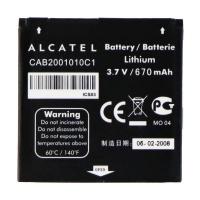 Alcatel OEM Rechargeable 670mAh Battery (CAB2001010C1)
