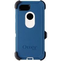 OtterBox Defender Case for Google Pixel 3- Big Sur (Beige/Coarsair) (Blue/White)