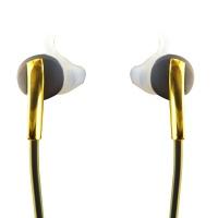 Simle Wireless Bluetooth In Ear Sport Earbuds - Black / Gold