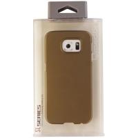 Qmadix SL Series Slim Hardshell Case for Samsung Galaxy S6 Smartphones - Gold