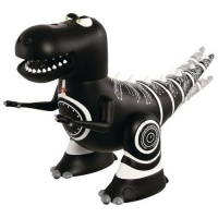 MerchSource Black Series Radio Controlled Robotosaurus w/ Remote -Black / White
