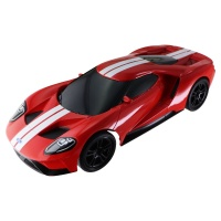 Jada Toys Badge City Heat Ford GT (Red) and Dodge Charger SRT Hellcat RC Cars