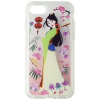 OtterBox Symmetry Case for Apple iPhone 8 and 7 - Garden of Honor Mulan