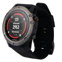 Garmin Fenix 5X Sapphire Edition Multisport 51mm GPS Watch - Slate Gray