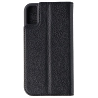 Case-Mate Wallet Folio Case for Apple iPhone XS / X - Loose Black Leather