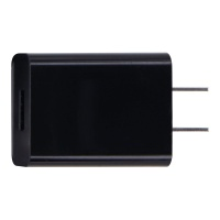 Travel Charger 5V 2A Single USB Port Wall Charging Adapter (A88-502000) Black