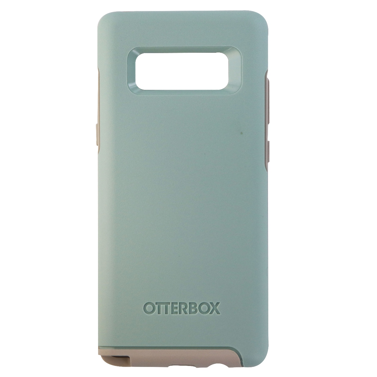 OtterBox Symmetry Case for Samsung Galaxy Note 8-Muted Waters (Muted Blue/Beige)