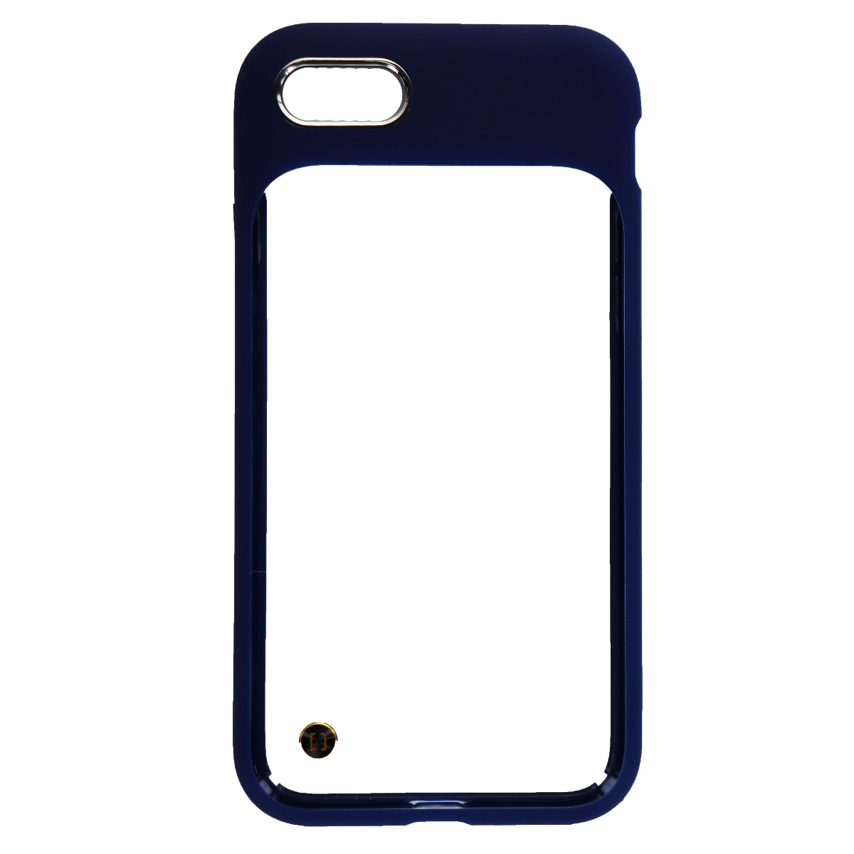 Granite Mono Series Hybrid Case for Apple iPhone 8 and 7 - Clear/Dark Blue