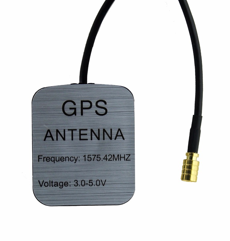 GPS Antenna Extension Cable 1575.42MHZ Frequency and 3.0-5.0V - Black