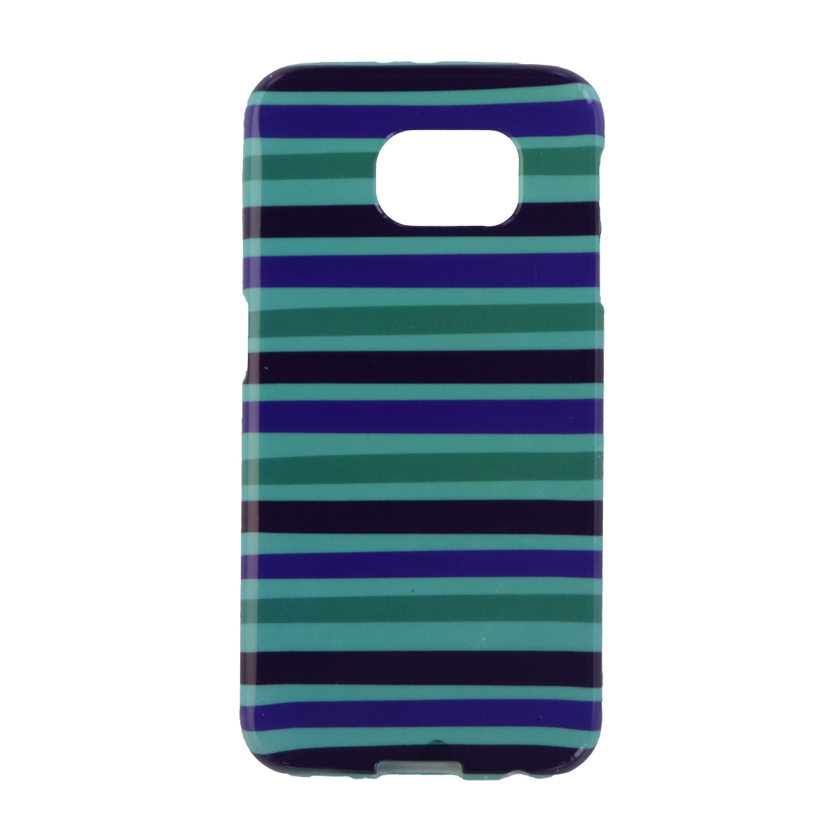 Insignia Soft Shell Protective Case Cover for Galaxy S6 - Green / Blue