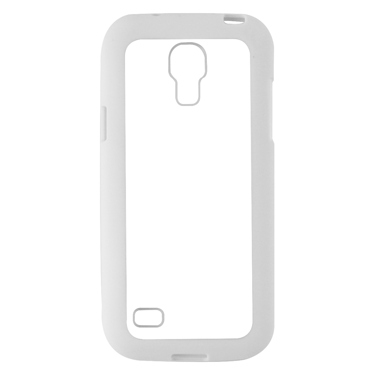 Wireless One Gravity Series Protective Case for Galaxy S4 Mini - White / Clear