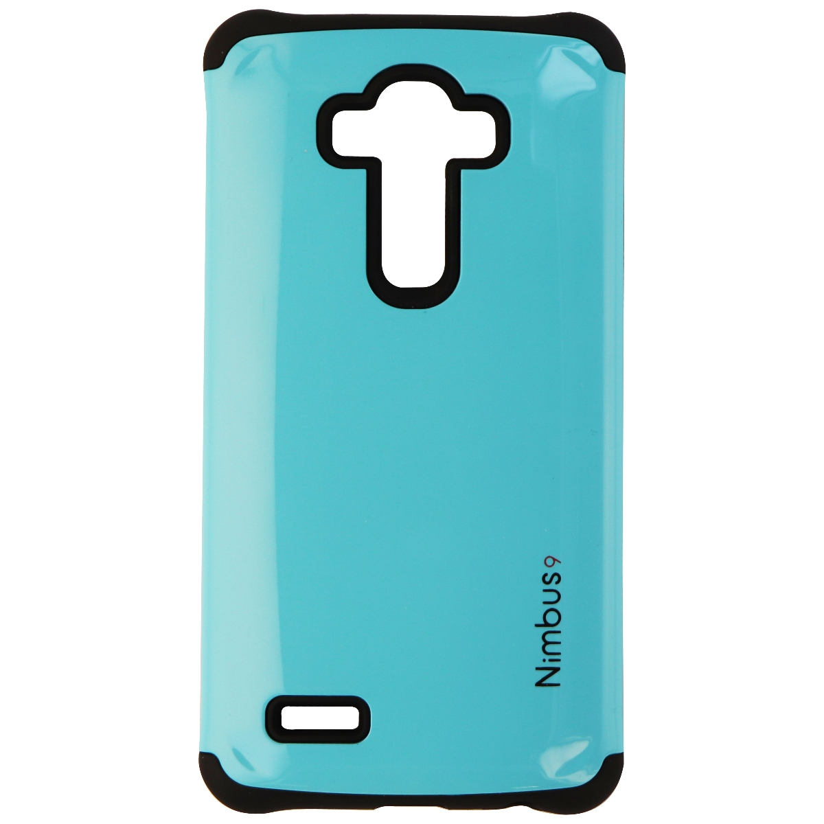 Nimbus9 Capsule Series Dual Layer Hard Case Cover for LG G4 - Light Blue / Black