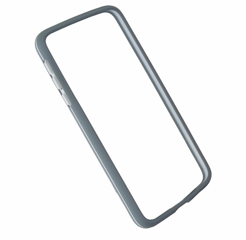 Incipio Bumper Case Cover for Motorola Moto Z Droid - Gray / White