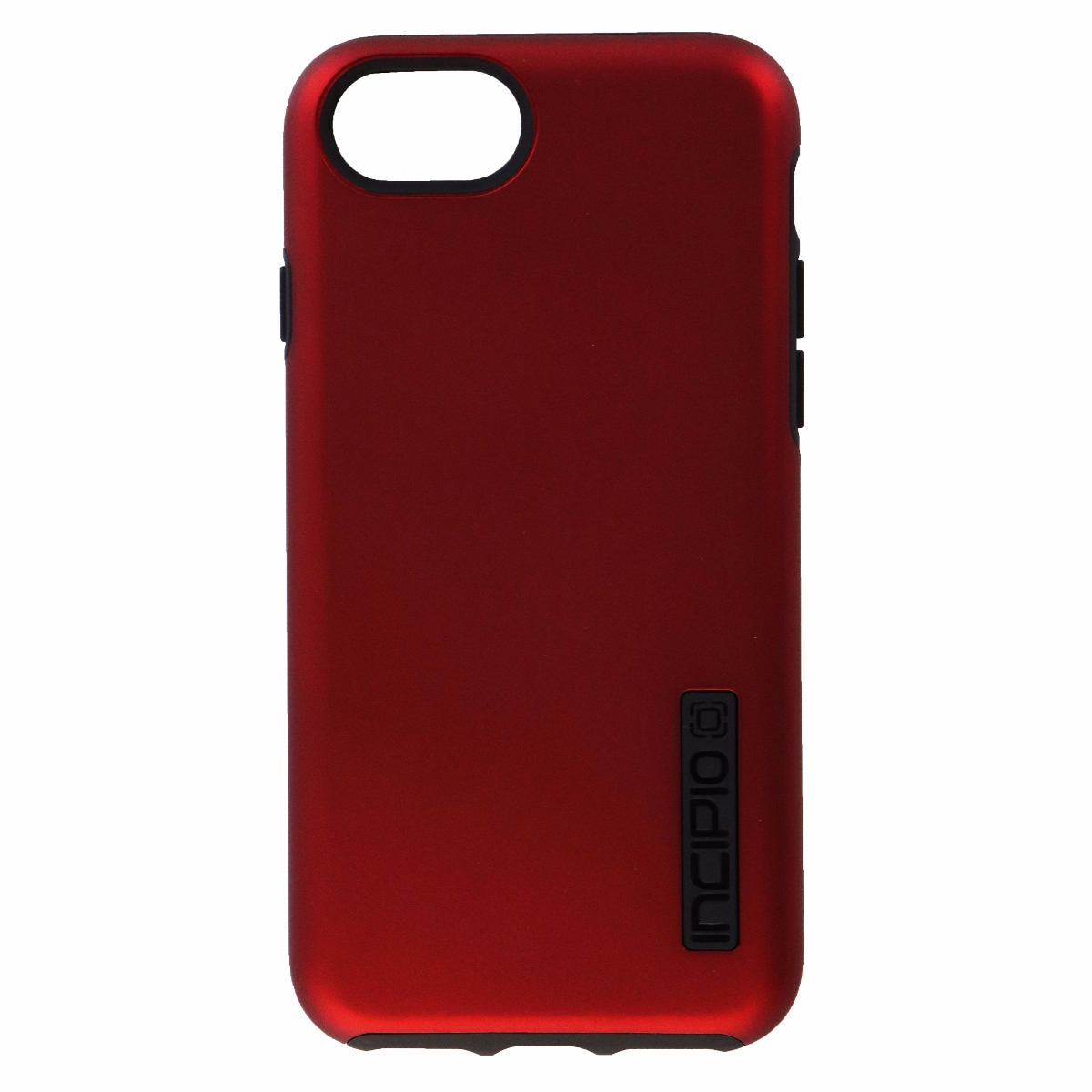Incipio DualPro Series Protective Case Cover for iPhone 8 7 - Red / Black