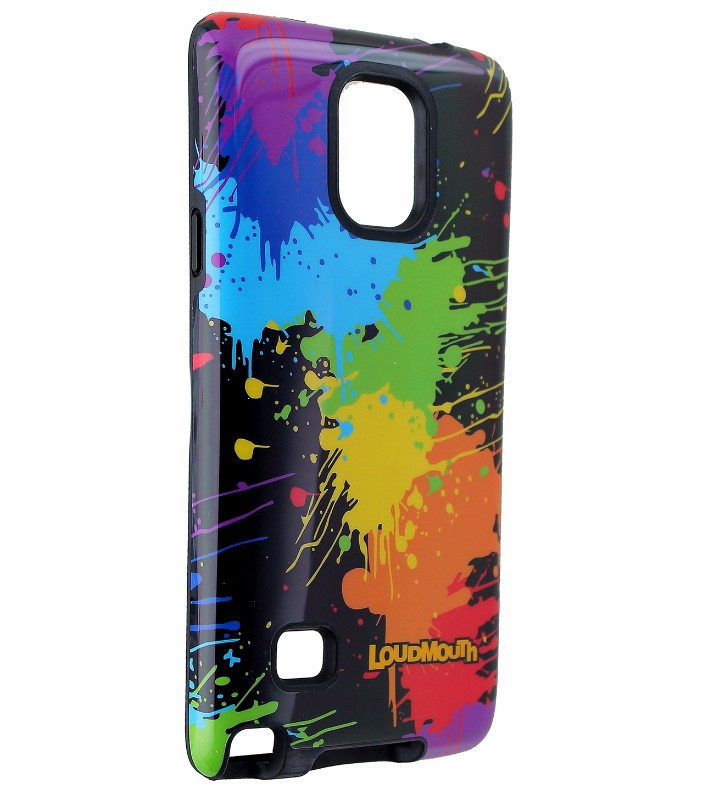M-Edge Loudmouth Protective Case Cover for Galaxy Note 4 - Paint Ball
