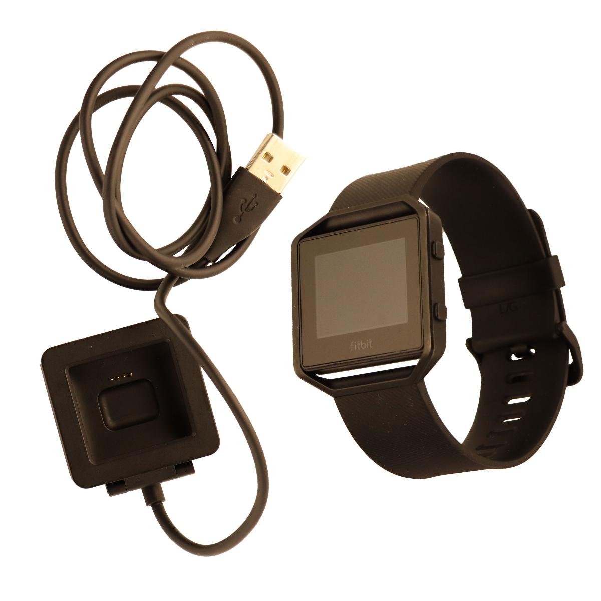 Fitbit Blaze Smart Fit Watch Special Edition (US Version)-Small- Gun Metal Black