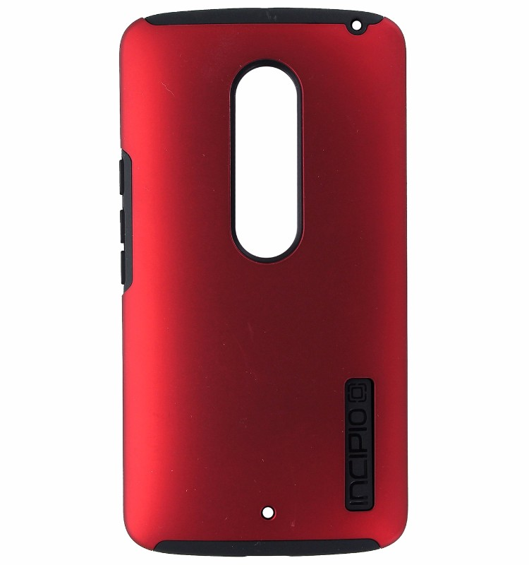 Incipio DualPro Dual Layer Cover Case for Droid Maxx 2 - Matte Dark Red / Black