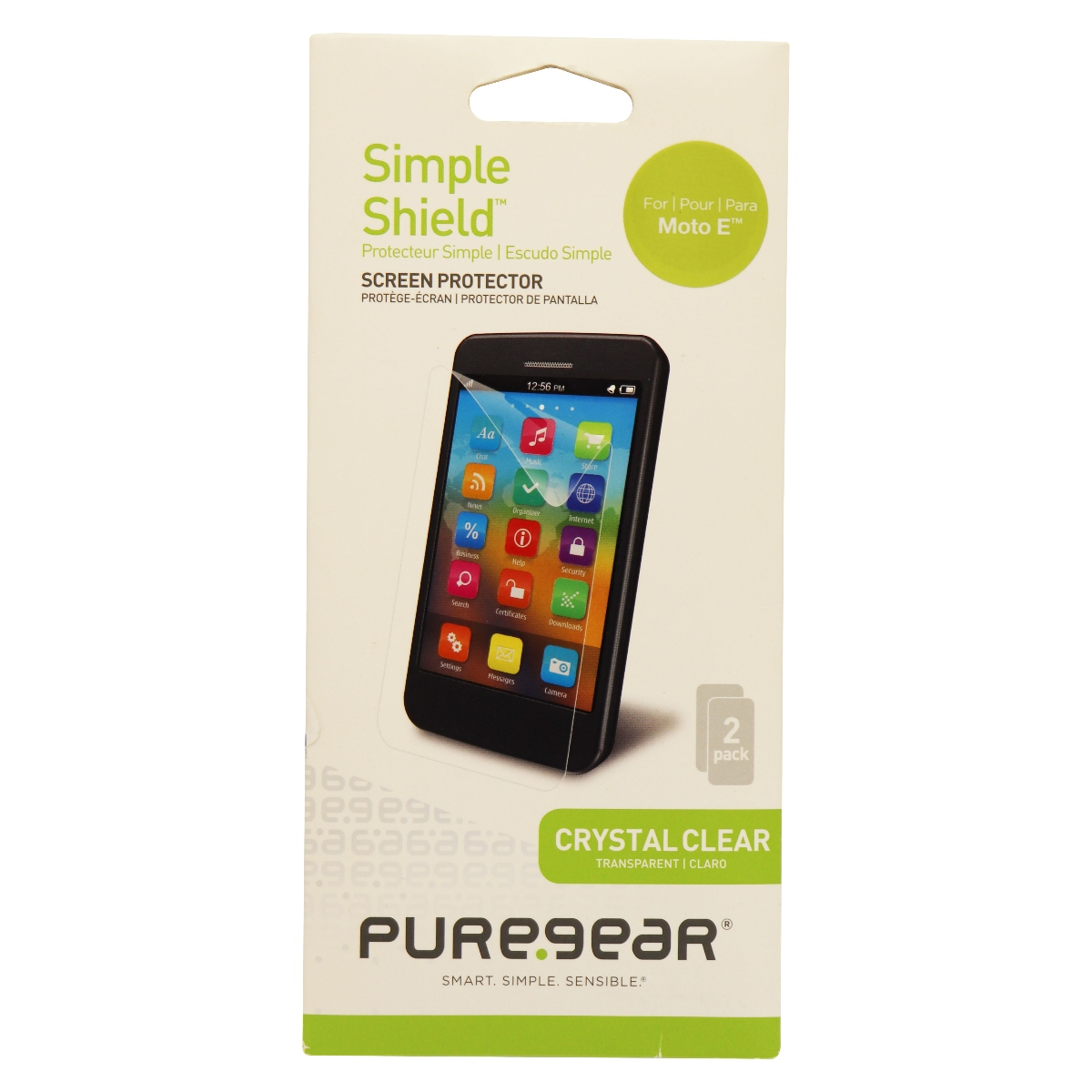 PureGear Simple Shield Screen Protector for Moto E - Clear