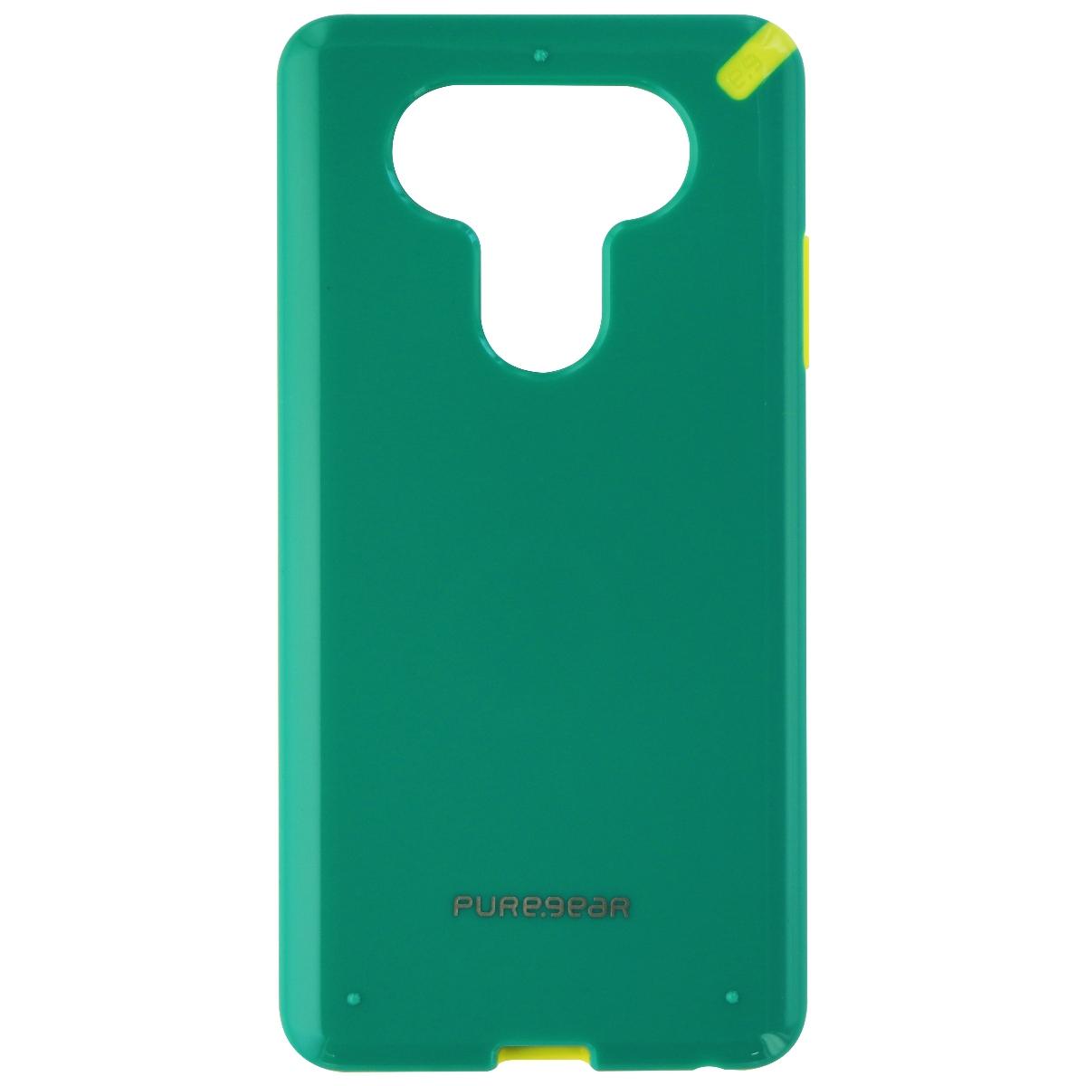 PureGear Slim Shell Series Hardshell Case Cover for LG V20 - Green/Yellow