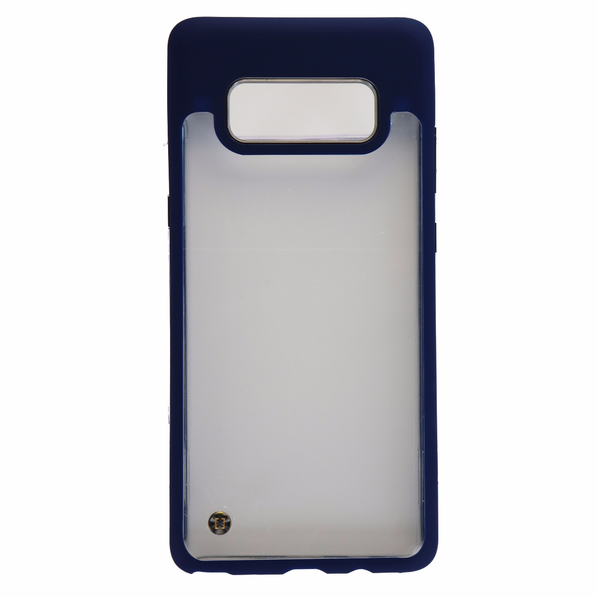 Granite Mono Series Hybrid Case Cover Samsung Galaxy Note 8 - Clear / Navy Blue