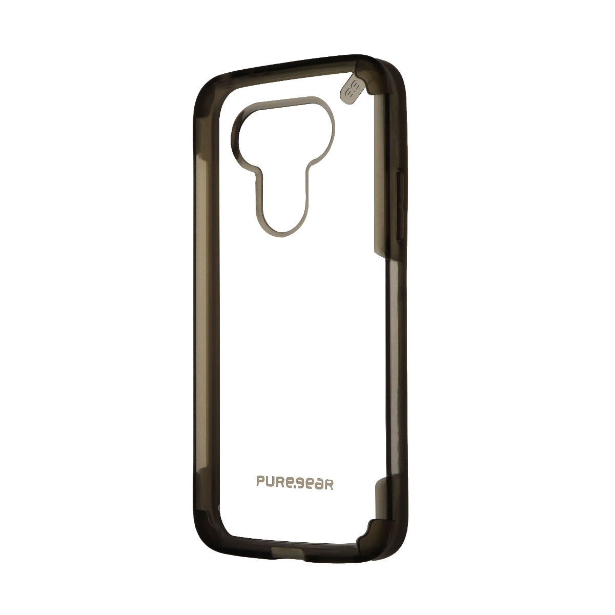 PureGear Slim Shell PRO Protective Case Cover for LG G5 - Clear / Light Gray