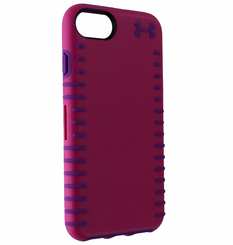 Under Armour Grip Series Hybrid Case Cover for iPhone 8/7/6s - Pink/Purple