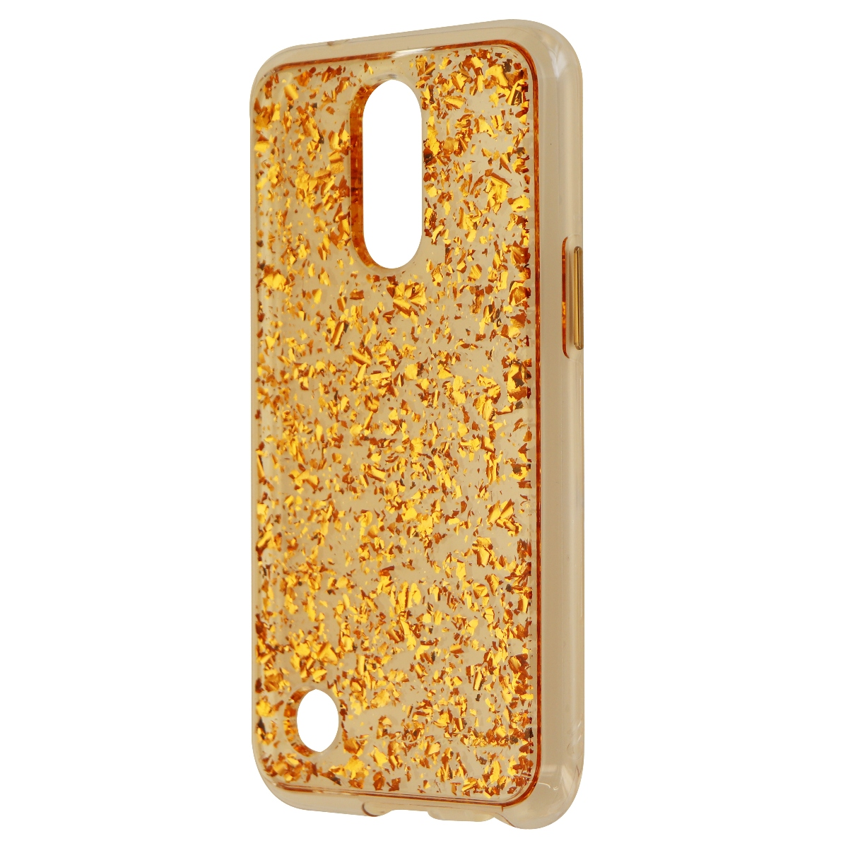 Case Mate Karat Series Protective Case Cover for LG K20 Plus - Clear Rose Gold
