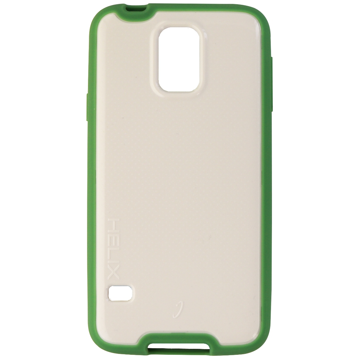 WirelessOne Helix Protective Case Cover for Samsung Galaxy S5 - White/Green
