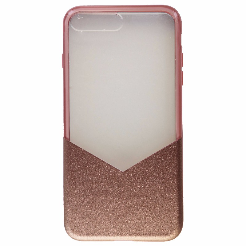 Milk and Honey Protective Case Cover for iPhone 8 7 Plus - Clear / Pink