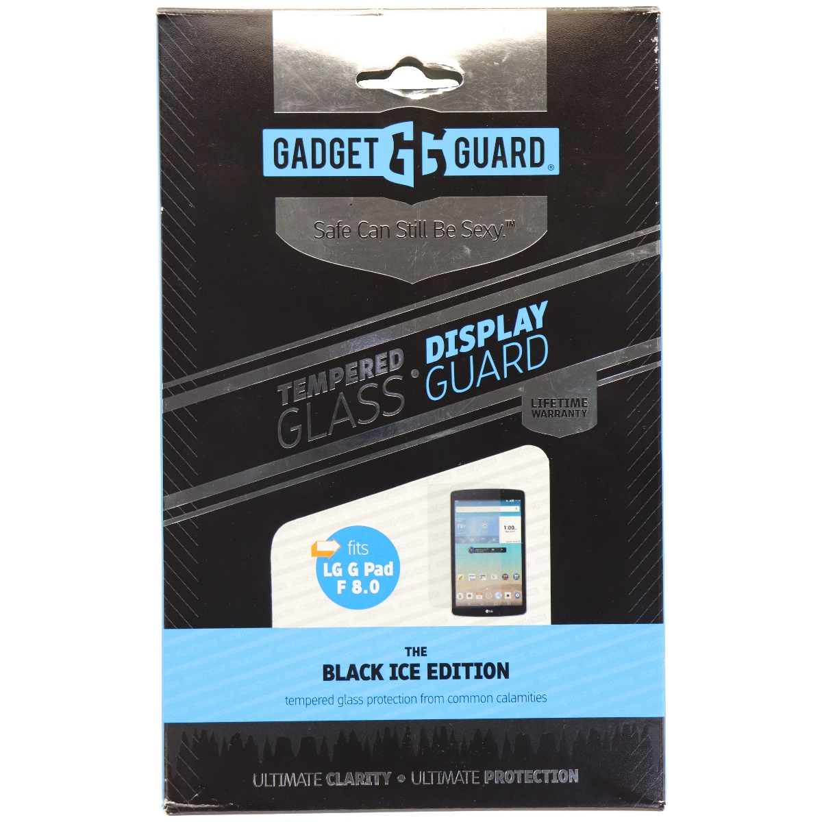 Gadget Guard Black Ice Tempered Glass Screen Protector for LG G Pad 8.0 - Clear