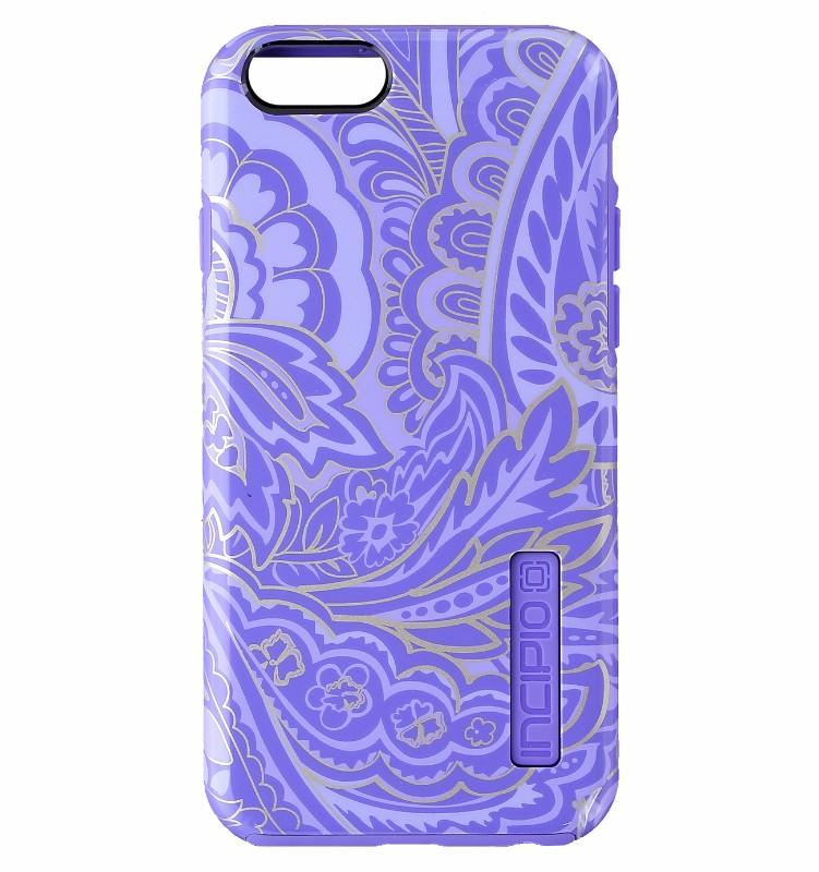 Incipio Design Series Hybrid Case Cover for iPhone 6s 6 - Purple / Gold Paisley
