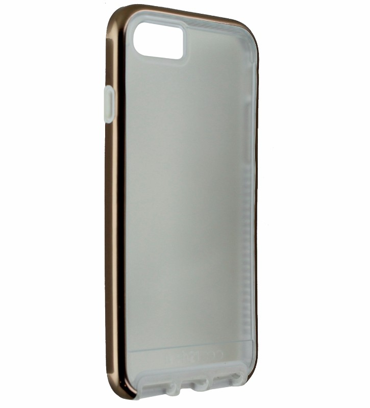 Tech21 Evo Elite Hybrid Case Cover Apple iPhone 8 7 - Frost / Rose Gold / White