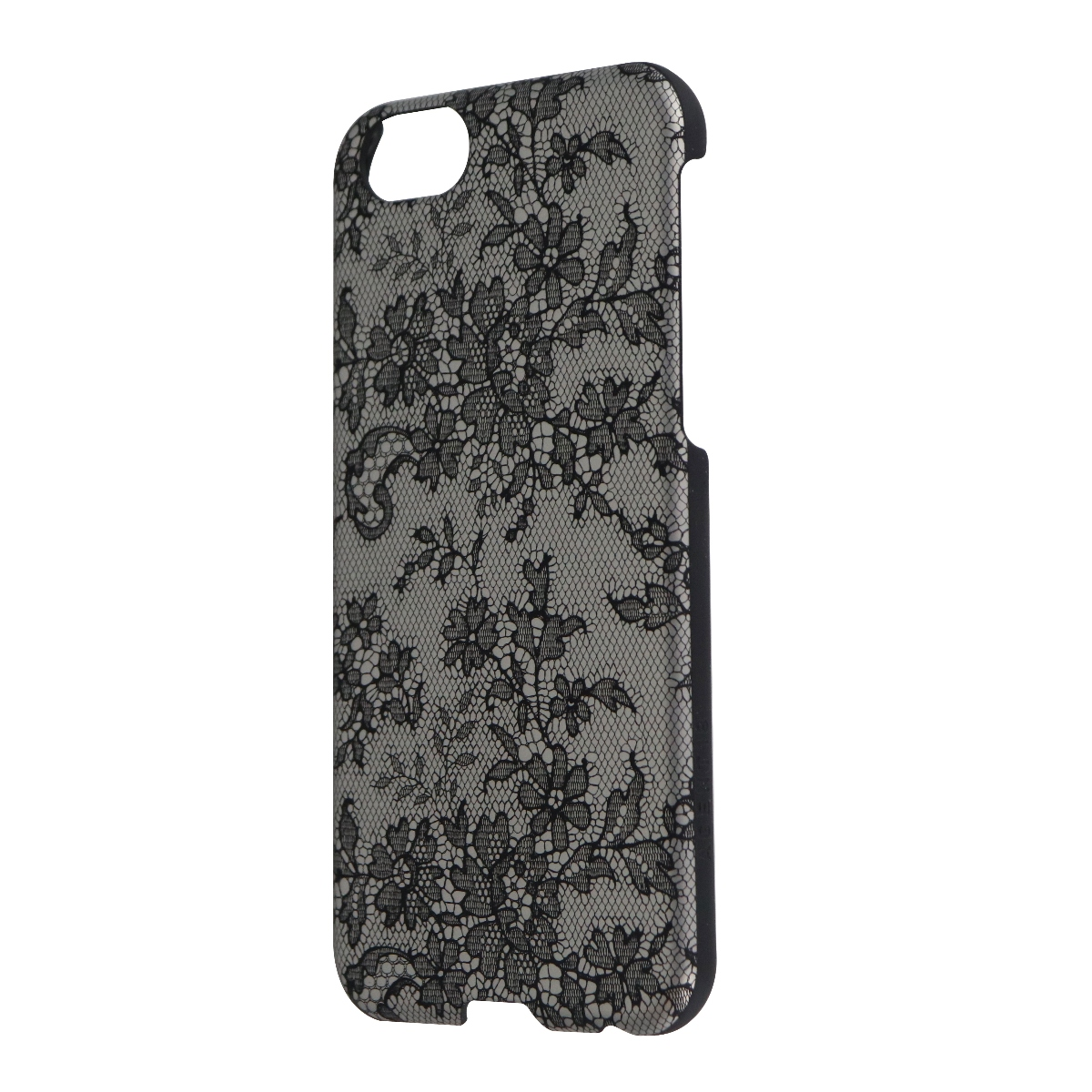 Agent18 SlimShield Series Hard Case Cover for iPhone 6s 6 - Silver Lace/Black