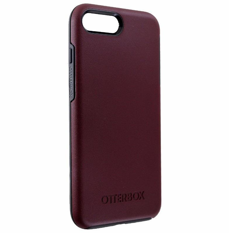 OtterBox Symmetry Case for Apple iPhone 7 / 8 Plus - Fine Port (Red/Slate Grey)