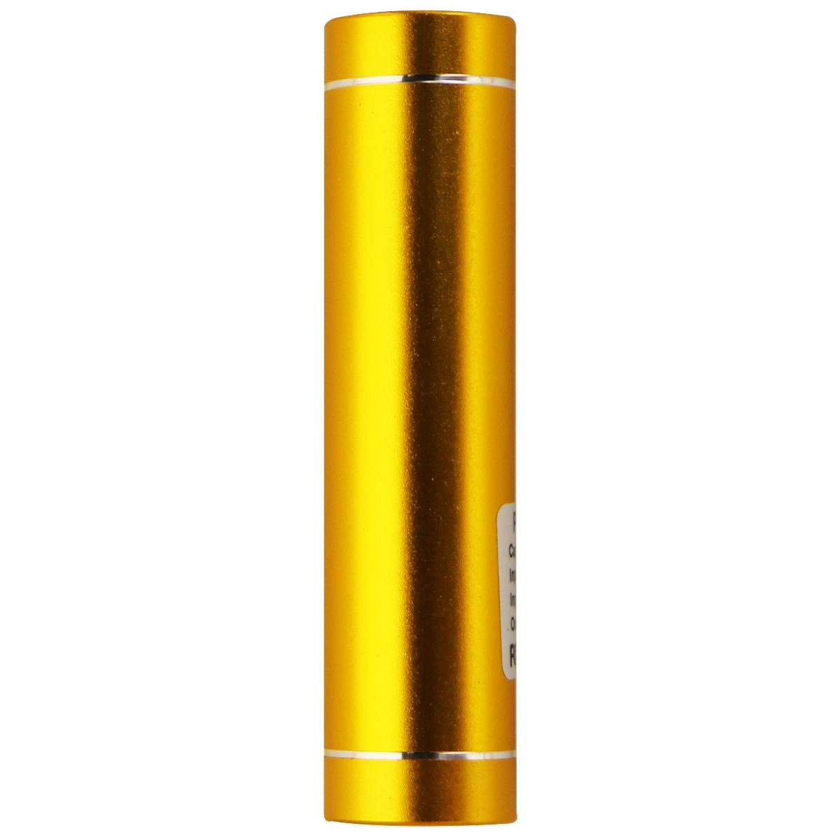 Power Bank Mobile Power Supply Portable Charger for Smartphone 2600mAh, Gold