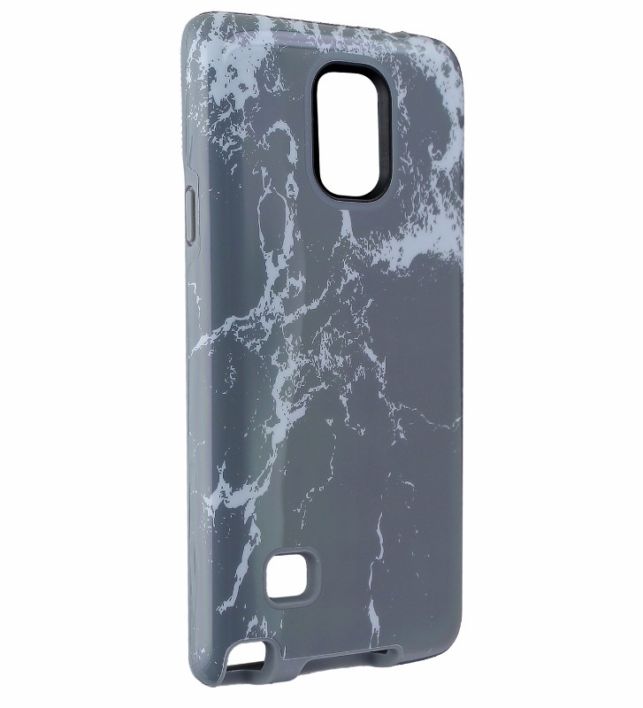 M-Edge Echo Series Case Cover for Samsung Galaxy Note 4 - Gray Marble