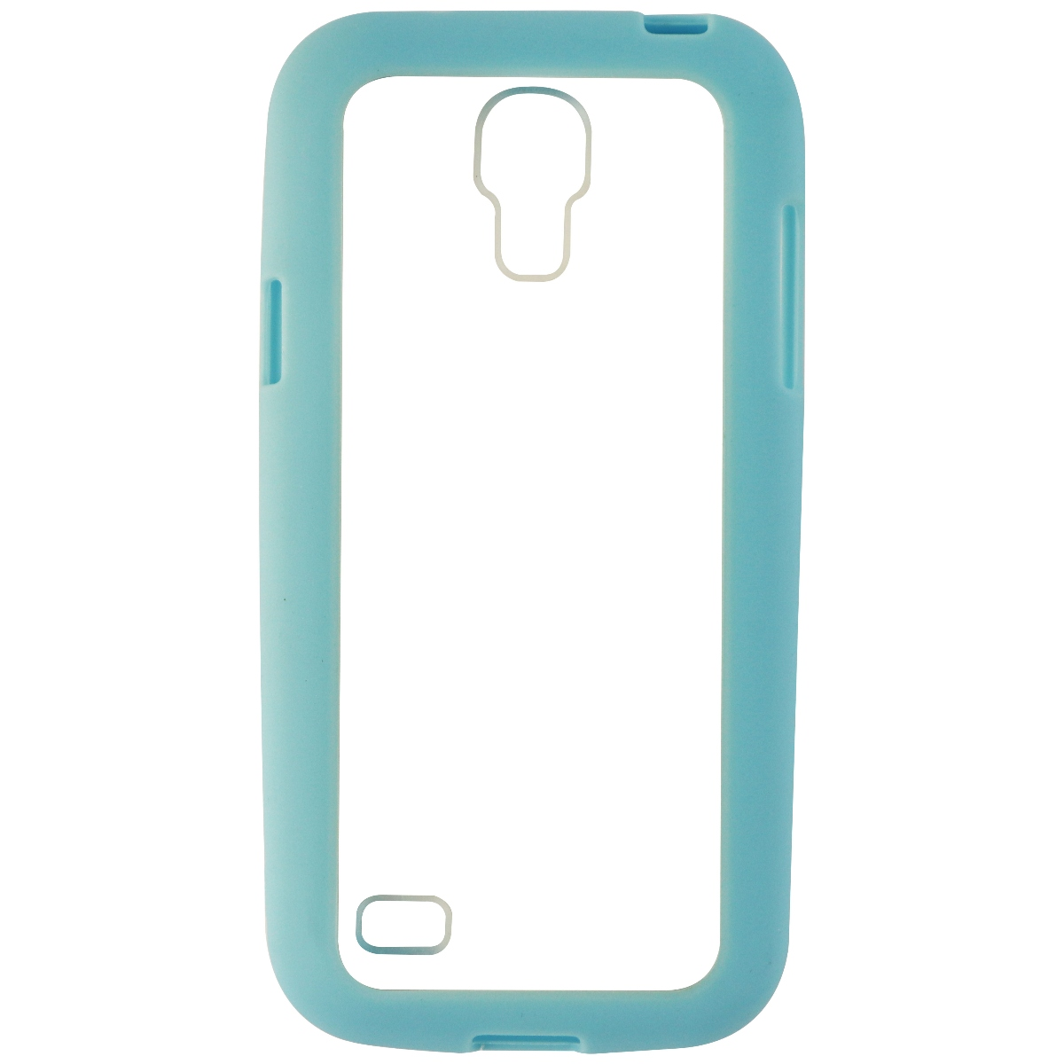 NuClear Gravity Protective Case Cover for Samsung Galaxy S4 Mini - Blue / Clear