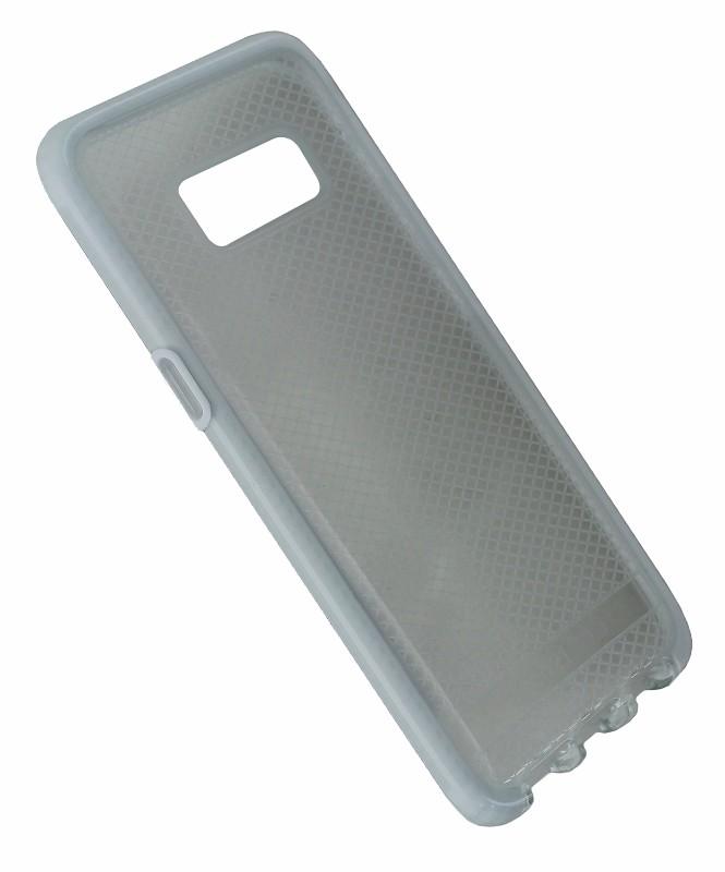 Tech21 Evo Check Flexible Protective Case for Samsung Galaxy S8 - Clear / White
