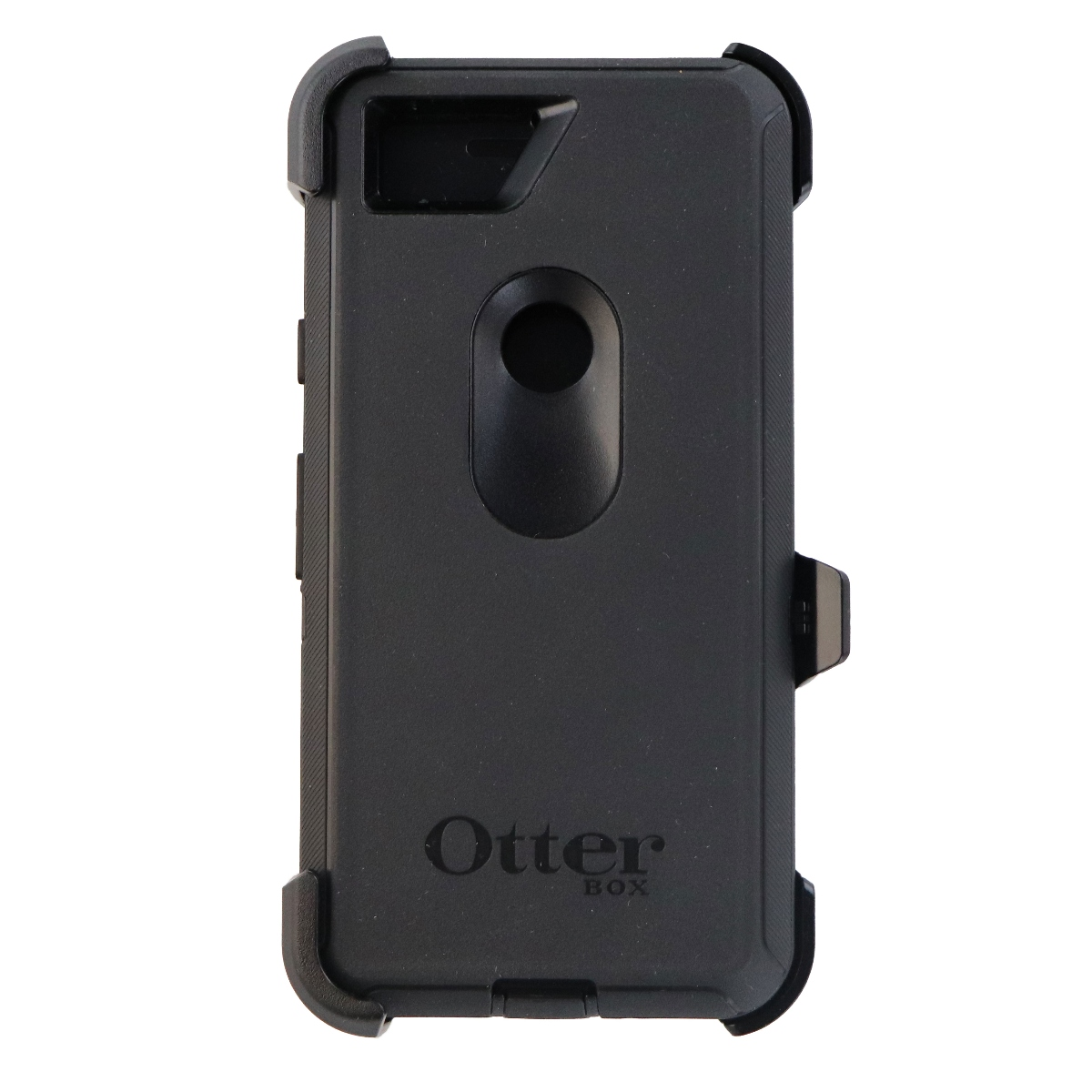 OtterBox Defender Series Case Cover with Holster for Google Pixel 2 - Black