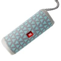 JBL by Harman Flip 4 Wireless Bluetooth SplashProof Portable Speaker - Gray/Teal
