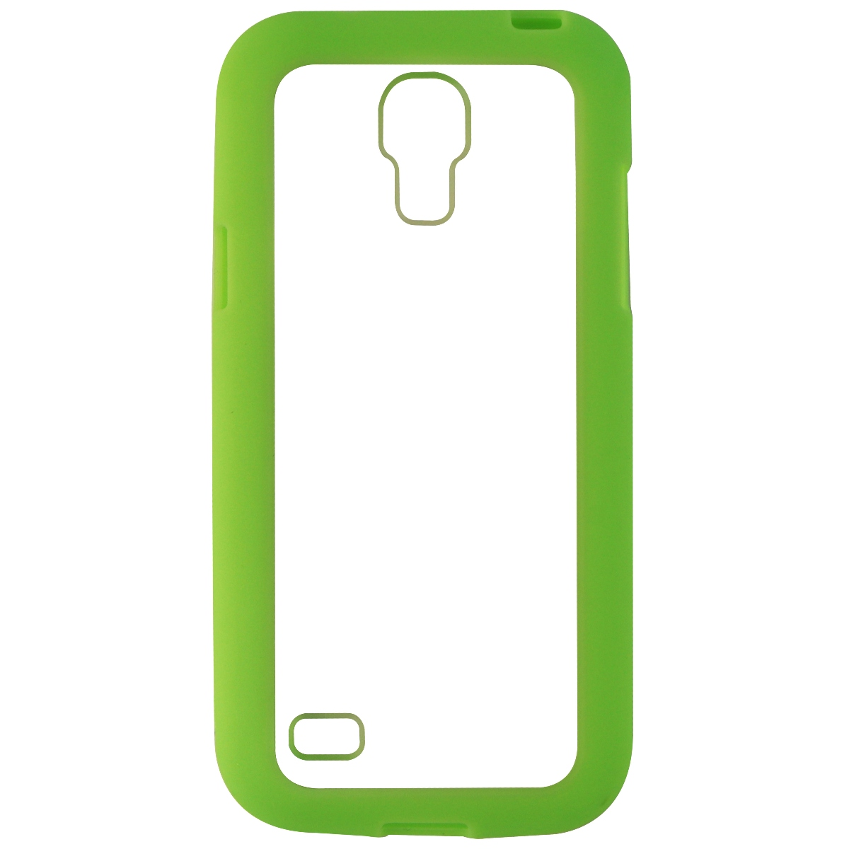 NuCLear Gravity Protective Case Cover for Samsung Galaxy S4 Mini - Green / Clear