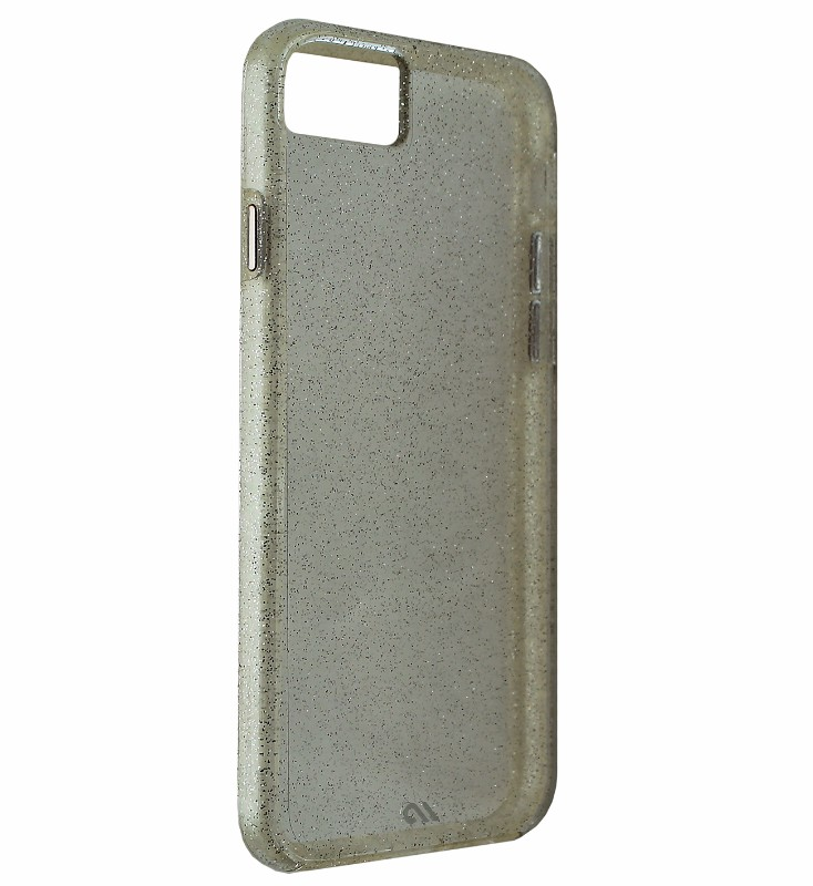 Case-Mate Sheer Glam Protective Case Cover Apple iPhone 7 6S 6 - Silver Glitter