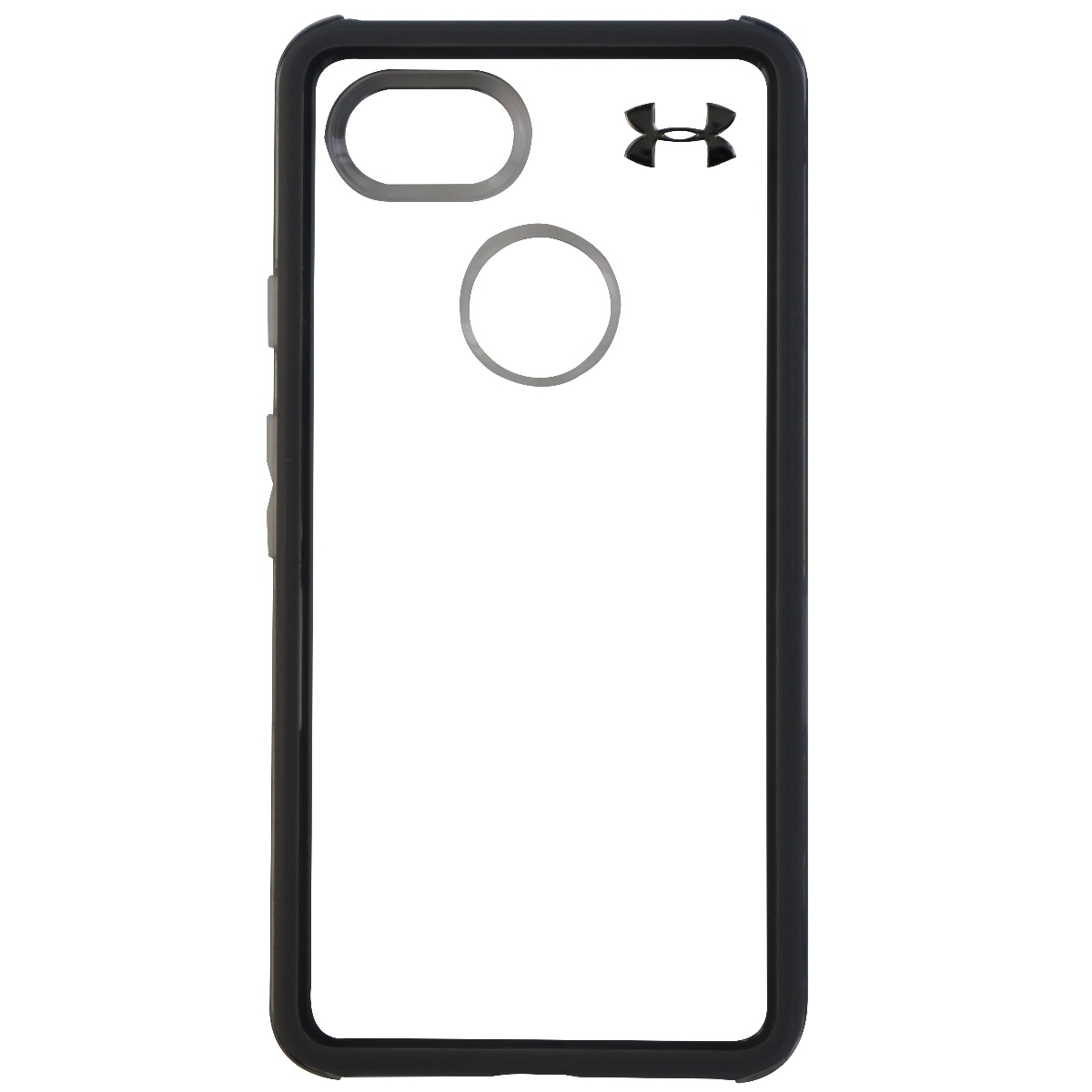 Under Armour Verge Series Hybrid Hard Case for Google Pixel 2 XL - Clear/Gray