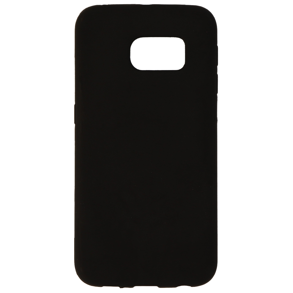 Insignia Soft Shell Protective Soft Gel Case for Samsung Galaxy S6 Edge - Black