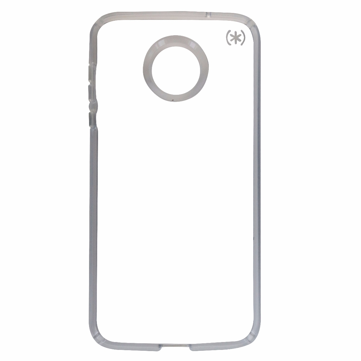 Speck Presidio Clear Series Case Cover for Motorola Moto Z2 Force - Frost/Clear