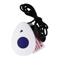 ATW Fall Detection Pendant Sensor - White (ATW-2400QFS)