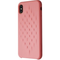 ARQ1 Impact Metric Series Case for Apple iPhone Xs Max - Blush (Pink)