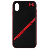 Under Armour Protect Kickstash Case for Apple iPhone XS Max - Black/Red