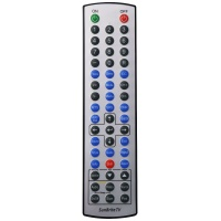Replacement OEM Remote Control for SunBrite TV - Silver/Black